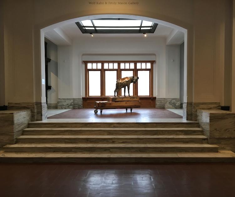 Brattleboro Art Museum interior by Faye Wolfe