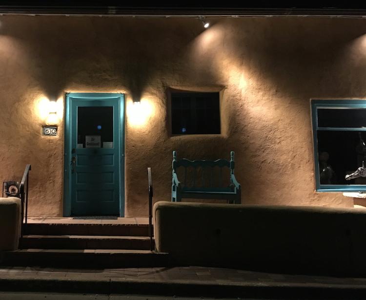 Santa Fe Canyon Road Wolfe.JPG