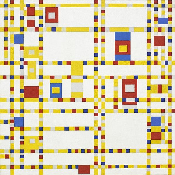 598px-Piet_Mondrian,_1942_-_Broadway_Boogie_Woogie